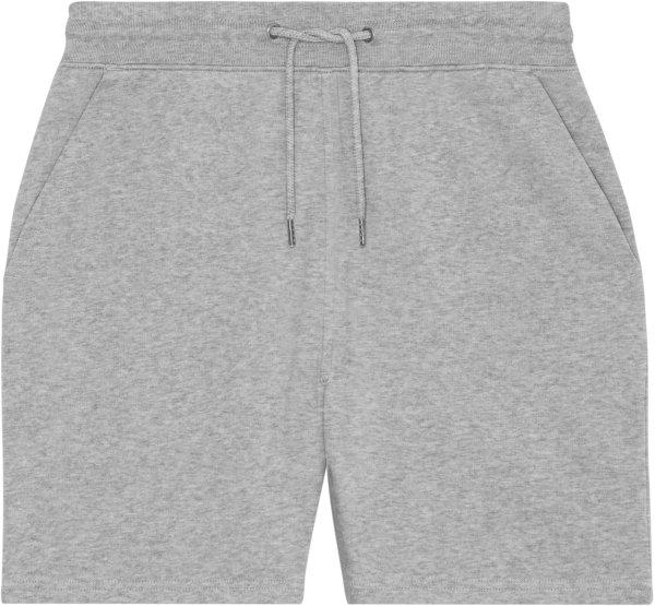 Joggingshorts aus Bio-Baumwolle - heather grey