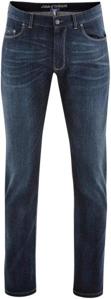 5-Pocket-Jeans aus Bio-Baumwolle - dark blue denim