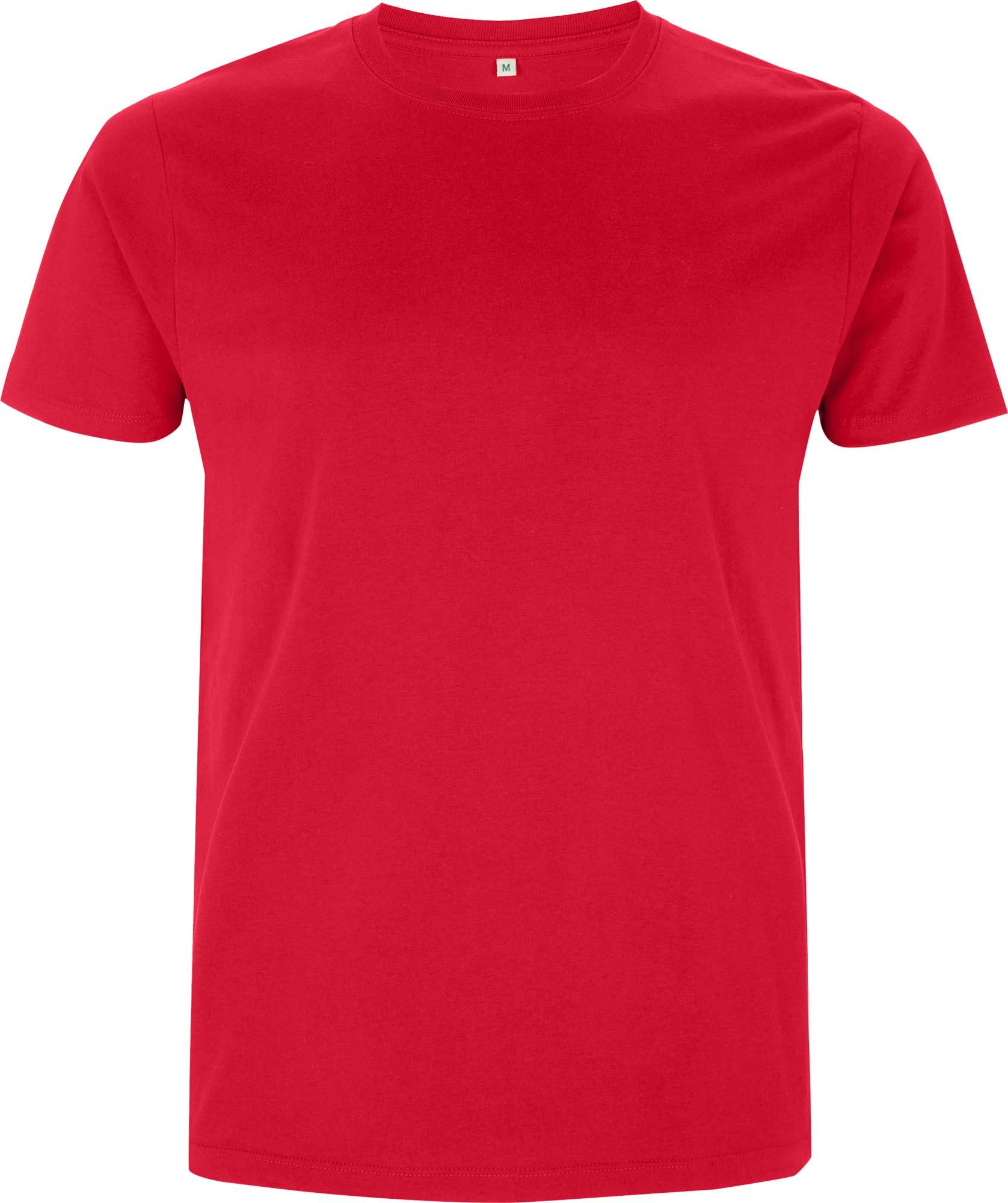 rotes fair trade t shirt aus bio baumwolle. Black Bedroom Furniture Sets. Home Design Ideas