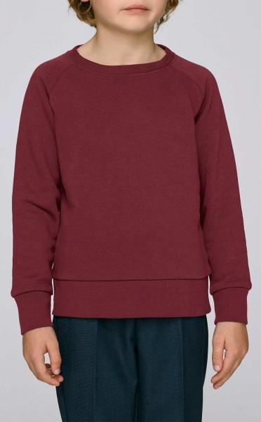 Kinder Mini Scouts - Unisex Sweatshirt BioBaumwolle - burgundy - Bild 1