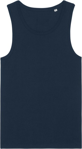Tank-Top aus Biobaumwolle - french navy