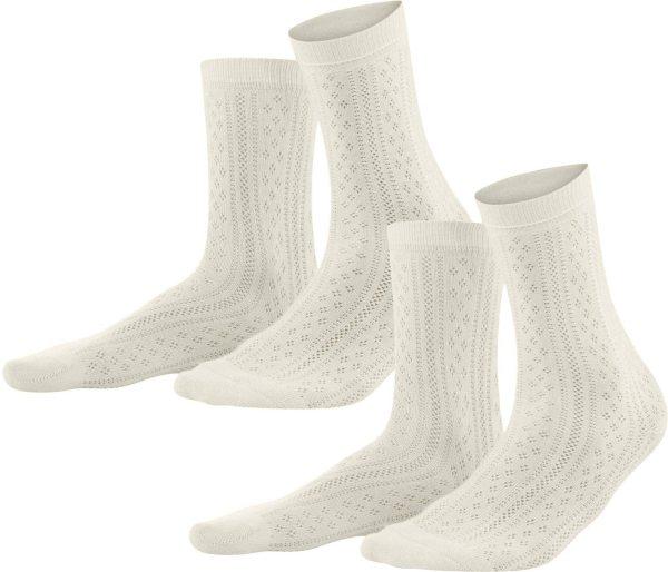 Damen Socken aus Bio-Baumwolle - 2er-Pack - natural