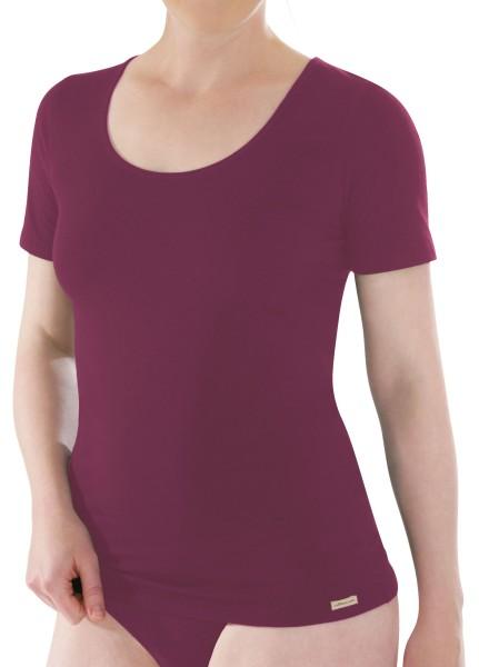 T-Shirt körperbetont lila Comazo 1-30-2764