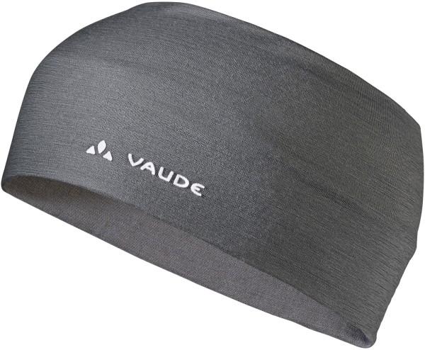Stirnband VAUDE Cassons Merino Headband Schurwolle