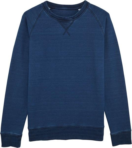 Strolls denim - Sweatshirt Bio-Baumwolle - mid washed indigo