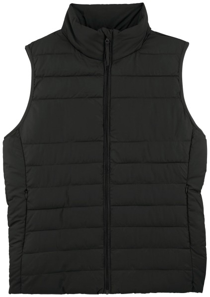 Frauen Weste Body Warmer black wattiert recyelt