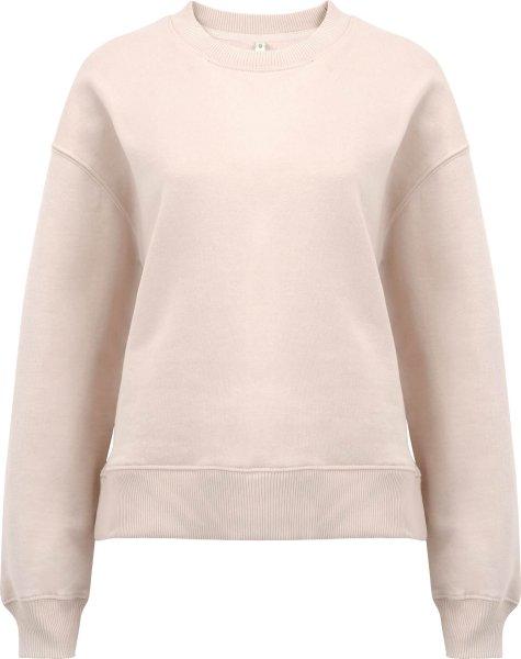 Schweres Sweatshirt aus Biobaumwolle - misty pink