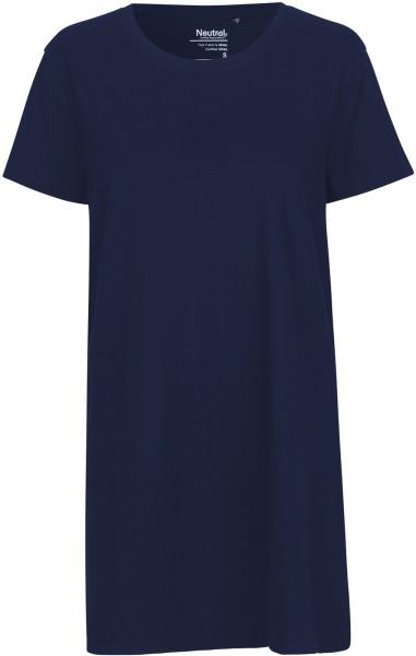Jersey-Kleid aus Fairtrade Bio-Baumwolle - navy