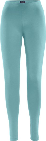 Leggings aus Bio-Baumwolle - cameo blue