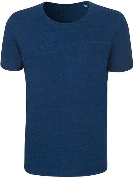 Enjoys Denim - T-Shirt aus Bio-Baumwolle - mid washed indigo
