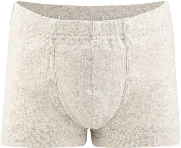 Jungen Pants aus Bio-Baumwolle - natural melange