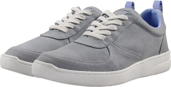 Herren Fairtrade Sneaker aus Bio-Baumwolle - grau
