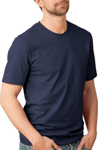 Change - Klassisches T-Shirt - Biobaumwolle navy - Bild 1