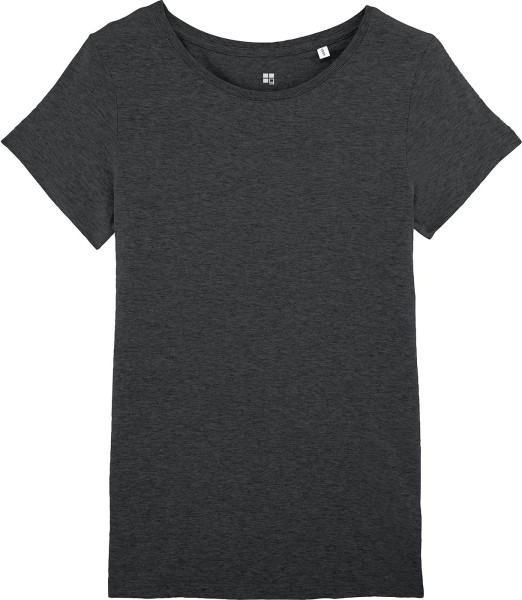 T-Shirt Bio-Baumwolle - dark heather grey
