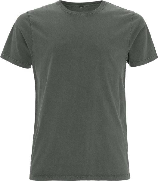 Herren Shirt Stone Wash grey