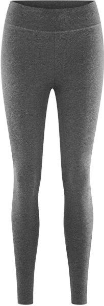 Leggings aus Bio-Baumwolle - graphite melange
