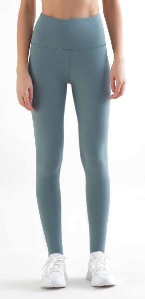 Active Leggings aus Bio-Baumwolle & Elastan - light grey