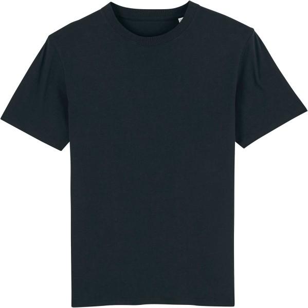 T-Shirt aus schwerem Stoff aus Bio-Baumwolle - black