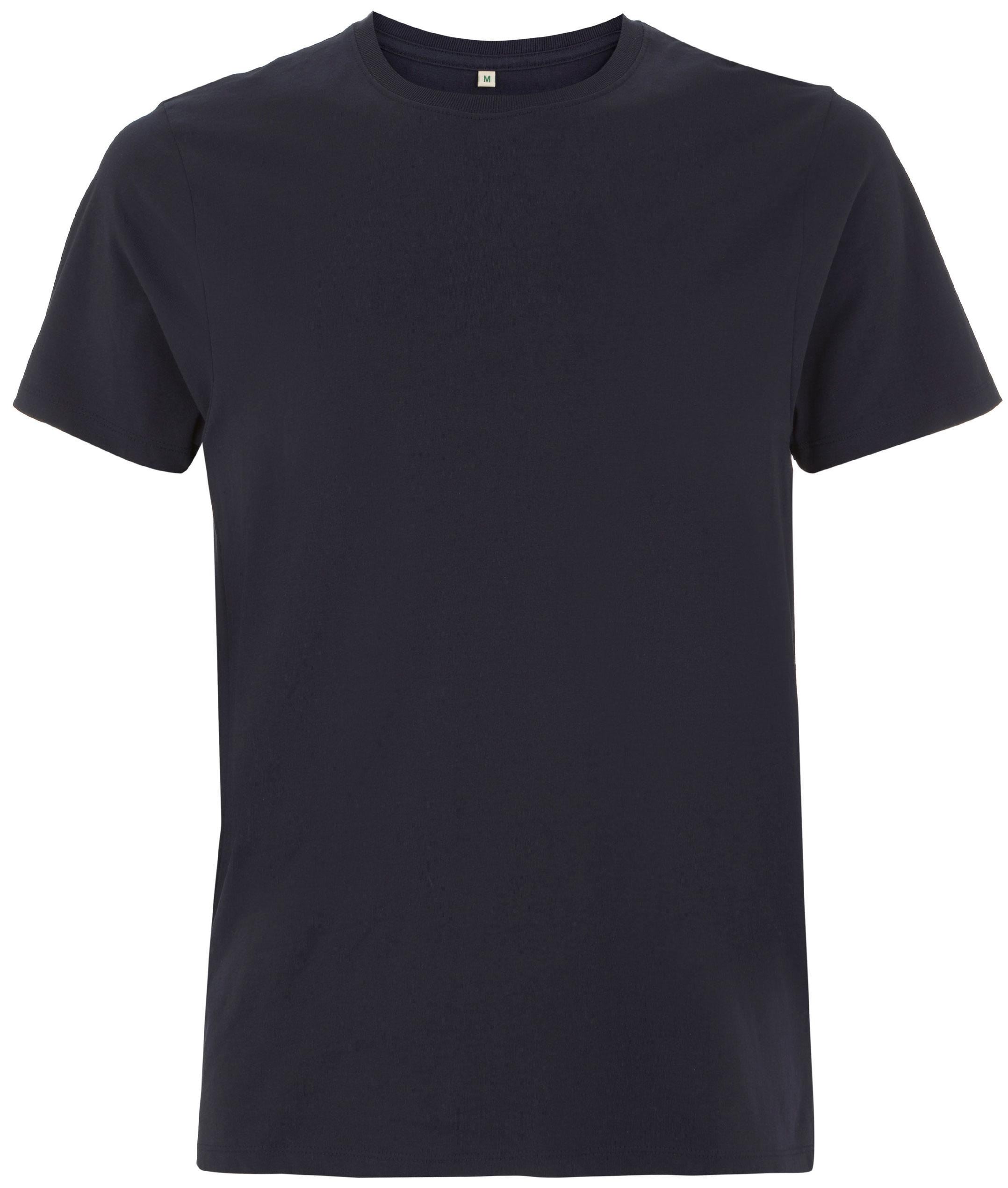 Organic Heavy T Shirt   navy