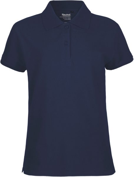 Pique Polo Shirt Frauen GOTS Biobaumwolle