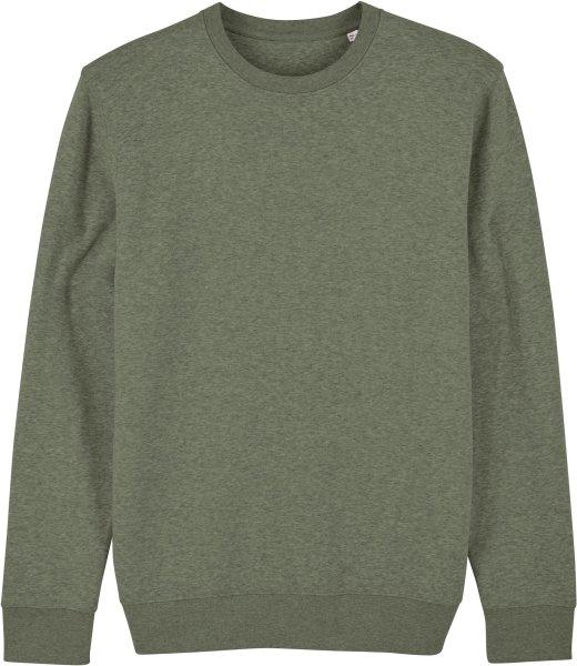 Unisex Sweatshirt aus Bio-Baumwolle - mid heather khaki