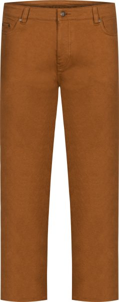 Organic Cotton Jeans - Tapered Fit - ochre overdyed