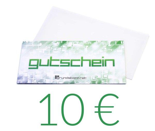 10,- EUR Geschenkgutschein - neutrales Design - Bild 1