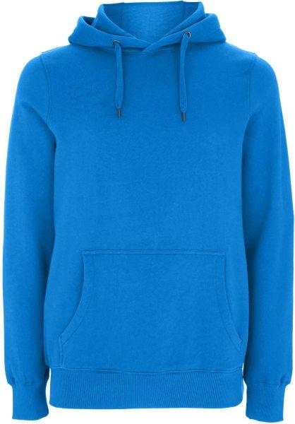 Unisex Kapuzenpullover aus Bio-Baumwolle - bright blue