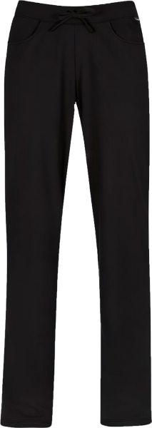 Relax-Hose aus reiner Baumwolle - schwarz