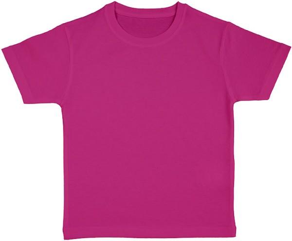 Frog - Kinder T-Shirt aus Bio-Baumwolle - dark pink - Bild 1