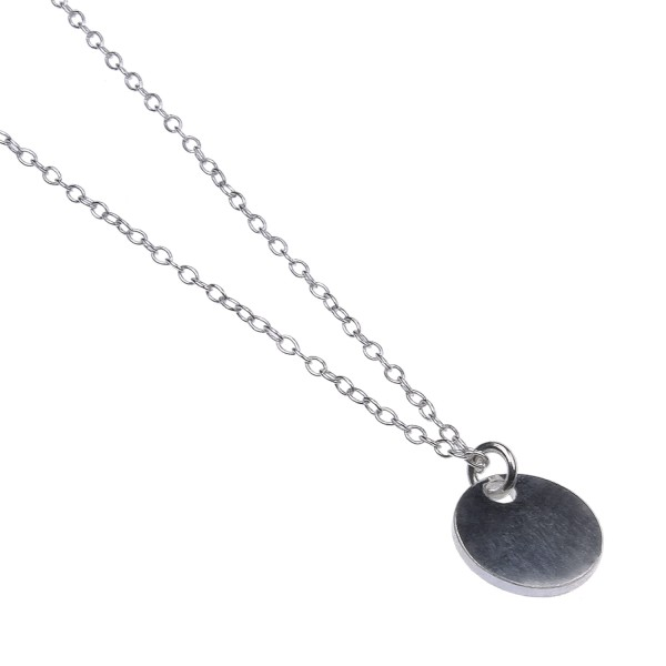 Initial Necklace – Kette aus recyceltem Silber
