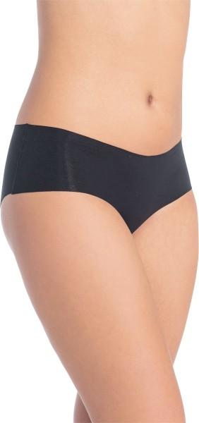 Elastische Panty aus Biobaumwolle und Elastan - schwarz