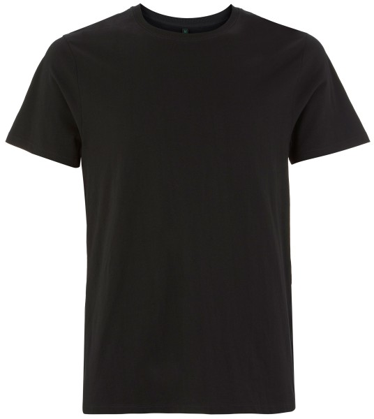 Dickes T-Shirt Herren schwarz EP18