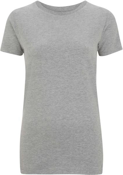 Women's Urban Brushed Jersey T-Shirt - melange grey