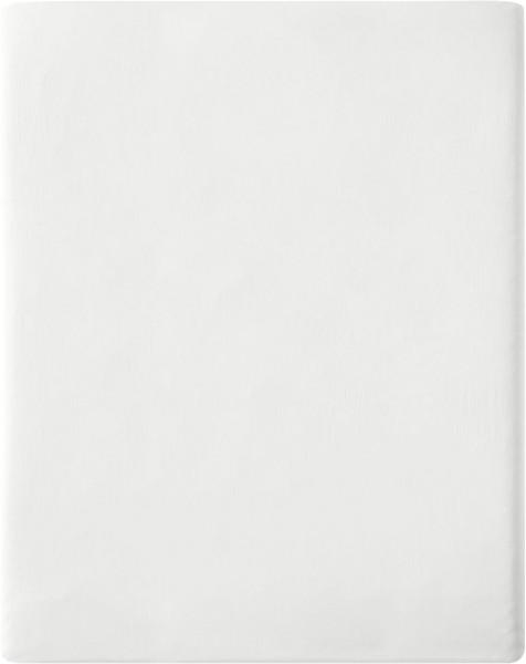 Satin-Spannbetttuch aus Bio-Baumwolle 160x200cm - offwhite