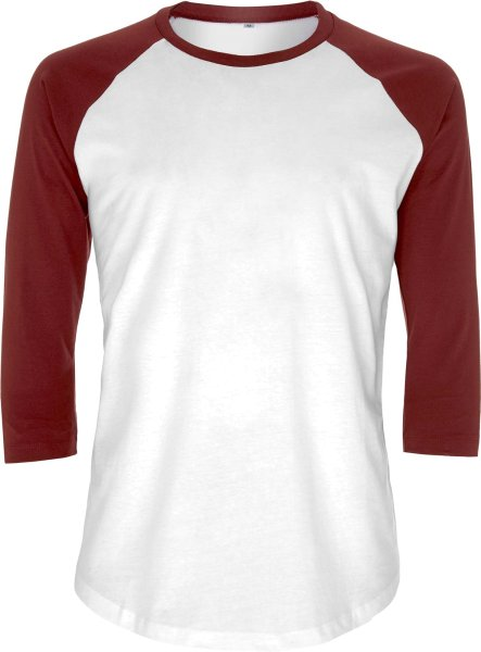 Baseball Shirt Herren Retro bio-fair EP22-whbu