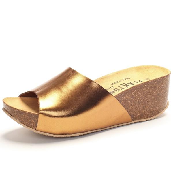 Sandalette bronze Lederriemen 273036
