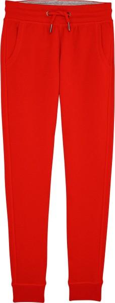 Kinder Jogginghose aus Bio-Baumwolle - bright red