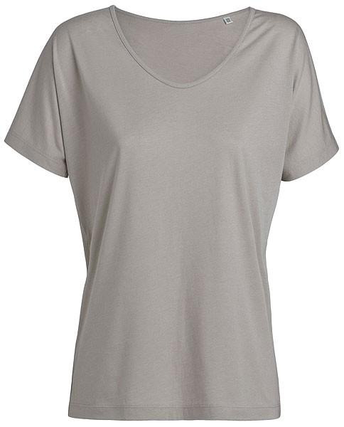 Designs Tencel - Weites V-Neck T-Shirt - opal - Bild 1