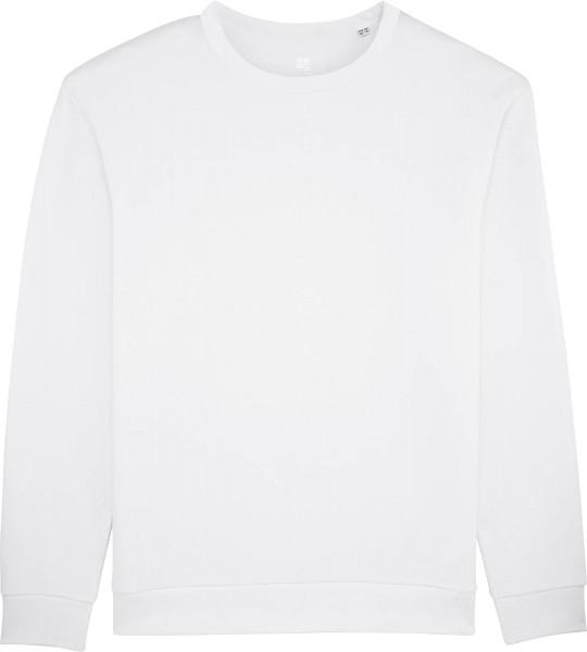 Sweatshirt aus Bio-Baumwolle - white
