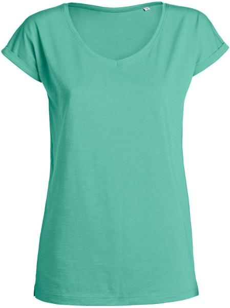 Invents Slub - T-Shirt aus Bio-Baumwolle - mint green - Bild 1