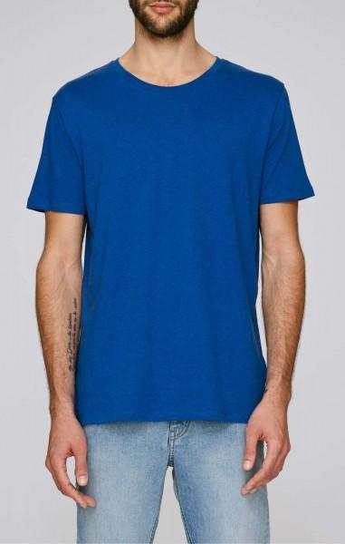 Leads - T-Shirt aus Bio-Baumwolle - mid heather royal blue - Bild 1