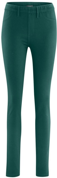 Treggings aus Bio-Baumwolle – forest