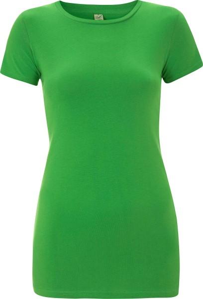Organic Slim-Fit T-Shirt hellgrün - Bild 1