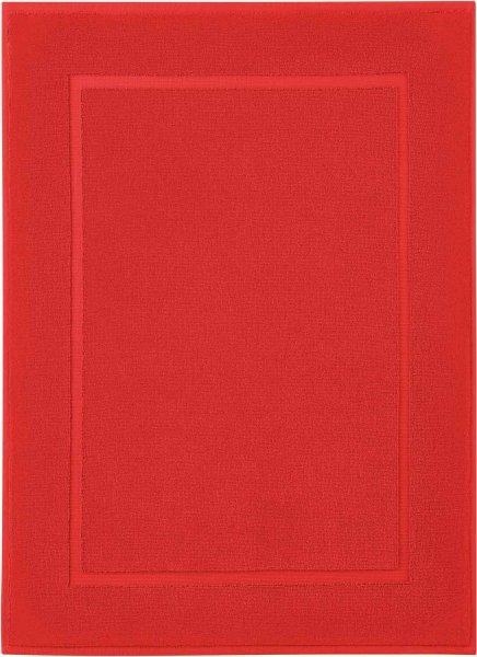 Badematte aus Bio-Baumwolle 50x70 cm - red clay