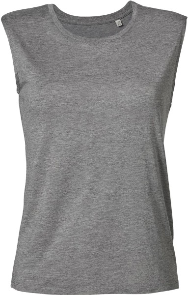 T-Shirt aus 100% Modalfasern - mid heather grey