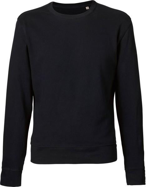 Leichter Sweater aus Bio-Baumwolle - black