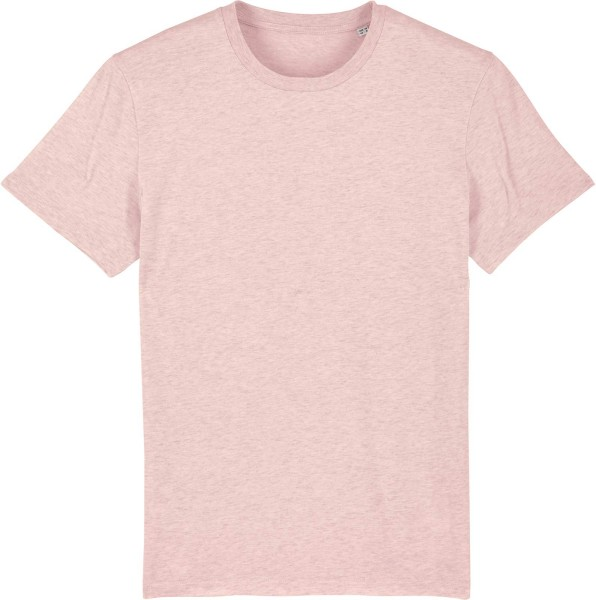 T-Shirt aus Bio-Baumwolle - cream heather pink