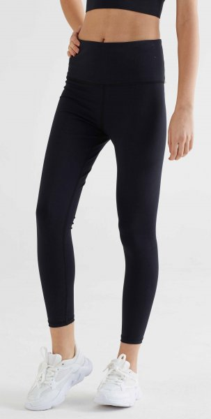 Active 7/8 Leggings aus Bio-Baumwolle & Elastan - black