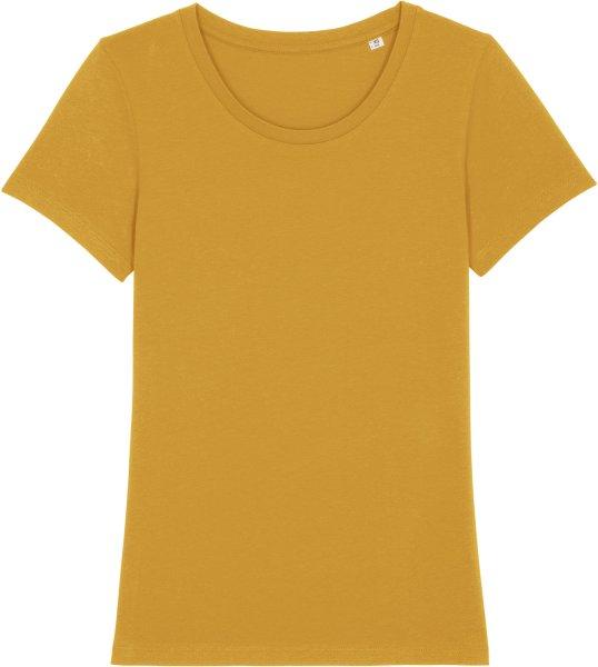 T-Shirt aus Bio-Baumwolle - ochre